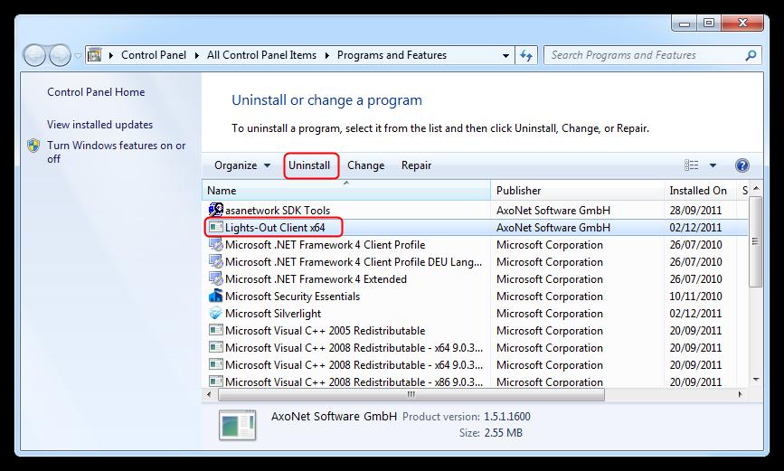 windows home server 2011  client